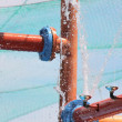 Water pipes — Stock Photo #9803185