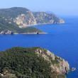 Paleokastritsa gulf on Corfu island, Greece — Stock Photo #9803197
