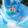 Stock Photo: Womin water park