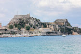 Corfu town — Stock Photo