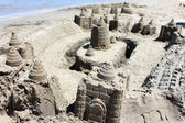 Sand castle — Стоковое фото
