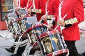 оркестр музыки на улице — Стоковое фото
