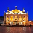 Lviv theater of opera and ballet — Stock Photo