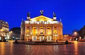 Lwowski Teatr Opery i baletu — Zdjęcie stockowe