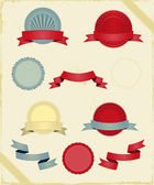 Vintage Ribbons And Banners Series — Stock Vector