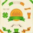 St. Patrick - Imagens vectoriais em stock