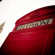 Red phone booth — Stock Photo #8721290