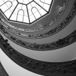Royalty-Free Stock Photo: A double spiral staircase in Vatican, Italy