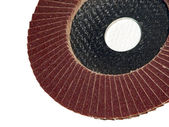 Sand grinding wheel — Stock Photo
