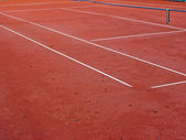 Tennis court — Stock Photo