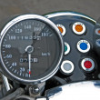 Motorcycle speedometer — Stockfoto
