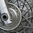 motorcycle wheel — Stock Photo #8673848