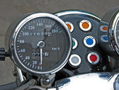 Motorcycle speedometer — ストック写真