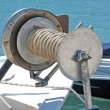 Boat winch — Stock Photo