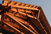 Wooden construction — Stock Photo