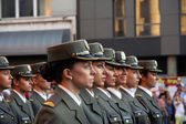 Military cadets — Stock Photo