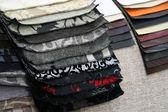 Amostra de matéria têxtil — Foto Stock