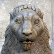 Stone lion - Foto Stock
