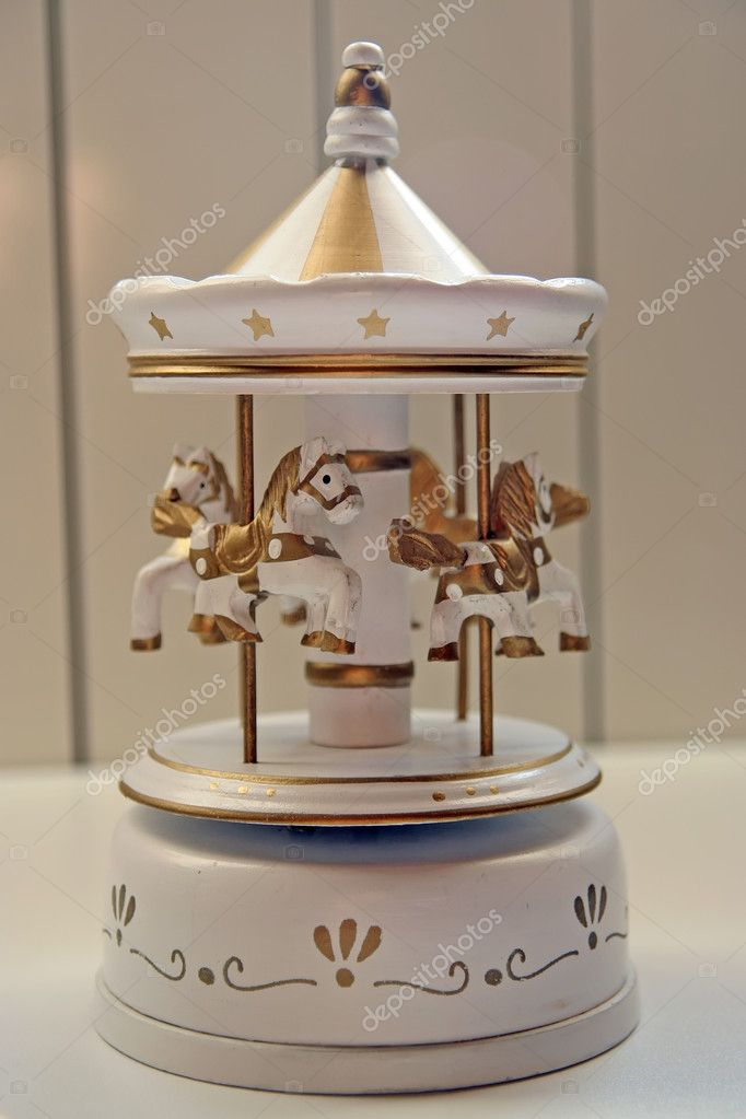 Small carousel home interior decoration. — Stock Photo #9712251