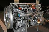 Truck engine — Stock Photo