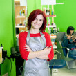 Hair salon owner or employee — Stock Photo #10082942