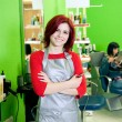 Royalty-Free Stock Photo: Hair salon owner or employee