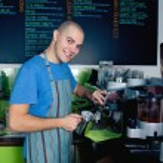 Making coffee — Stock Photo