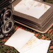 Vintage photo album — Stock Photo