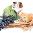 Holy communion elements — Stockfoto