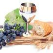 Holy communion elements - Stock Photo