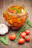 Sundried tomatoes — Stock Photo
