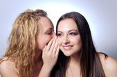Sharing secret — Stock Photo