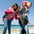 Happy family having fun — Stock Photo #8261331