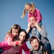 Happy family having fun — Stock Photo #8338632