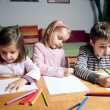 Royalty-Free Stock Photo: Kids drawing