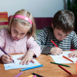 kids drawing — Stock Photo #8407859