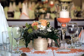 Wedding dinner — Stock Photo