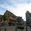 Colmar historic city downtown — Stock Photo