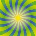 Постер, плакат: Sole psichedelico