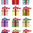Royalty-Free Stock Vector Image: Pacchetti regalo