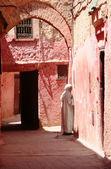 Road of Marrakech, Morocco — Stock Photo