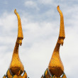 Spires on roof, Royal palace in Bangkok — Stock Photo #8845229