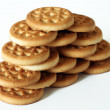 Biscuits wall — Stock Photo