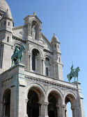 Sacre-Coeur church, Paris — Stock Photo