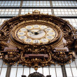 图库照片: Clock of Museum Orsay in Paris