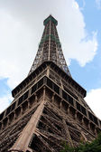 Under Eiffel Tower, Paris — Stock Photo