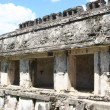 Palenque ruins, detail of courtyard — Stock Photo