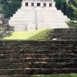 Stock Photo: Palenque pyramid in jungle