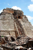 Pyramid in uxmal, mexico — Stock Photo