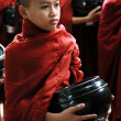 Novice monk in Amarapura — Stock Photo #9110318